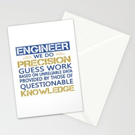 Engineer Stationery Cards