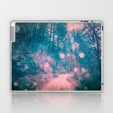 Nature Path - Vintage Pink and Blue Magical Soul Path Laptop & iPad Skin