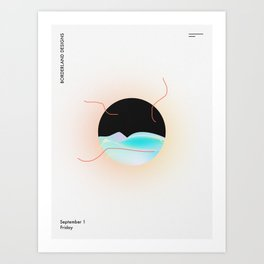 Borderland Art Print