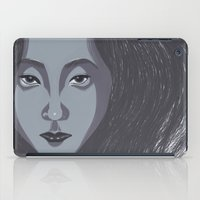 no face iPad Cases featuring Face by Ariel Ni-Wei Huang