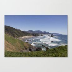 Cannon Beach View from Ecola Park Canvas Print