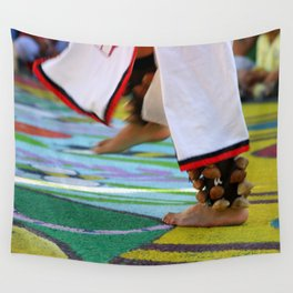 Dancing Feet Wall Tapestry