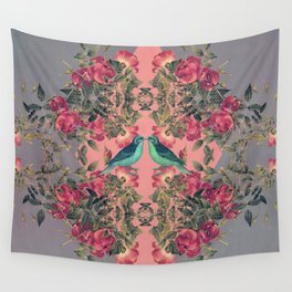 Love Birds II Wall Tapestry
