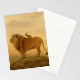 Isabella and the Lion Stationery Cards