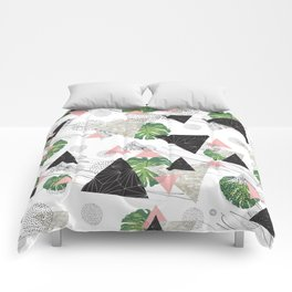Triangles with leaf Comforters