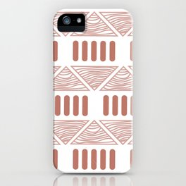 Andi Terracotta iPhone Case