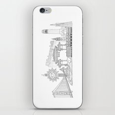San Francisco by the Downtown Doodler iPhone & iPod Skin