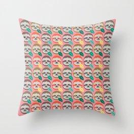 The Slothful Ones II Throw Pillow