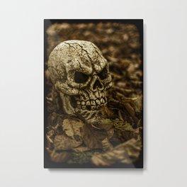 Halloween Skull 2 Metal Print