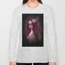 SugarSkull Queen Long Sleeve T-shirt
