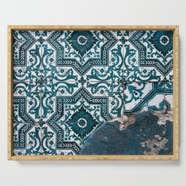 some Portuguese tiles Serving Tray