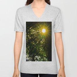 Rays Of Sunshine Unisex V-Neck