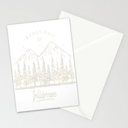 Beautiful of Wilderness Stationery Cards