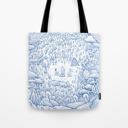 """""""Can You Spot Spirit"""" Woods Theme Tote Bag"""