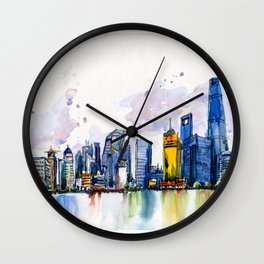 20161009a Shanghai Wall Clock