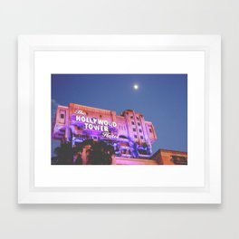 Hollywood Tower of Terror Framed Art Print