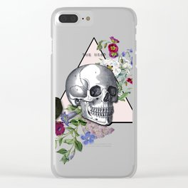 THE HEAD Clear iPhone Case