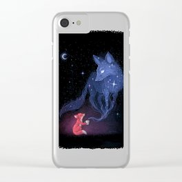 Celestial Clear iPhone Case