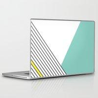 minimal Laptop & iPad Skins featuring MINIMAL COMPLEXITY by .eg.