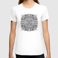 weed T-shirts featuring Mandala Weed by Bad Mandala