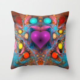 Peace Of My Heart Throw Pillow