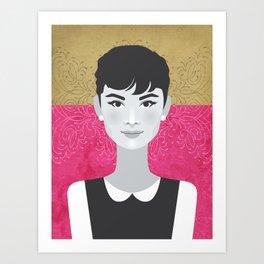 7eaec7f7c1 Audrey Hepburn Art Prints