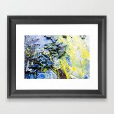 Wax & Soul Framed Art Print