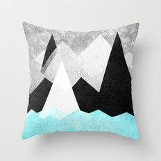 Candyland - Minty fresh Throw Pillow