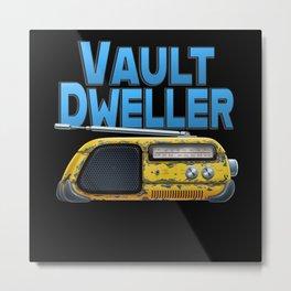 Vault Dweller Metal Print