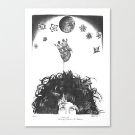 Cosmic Love Canvas Print