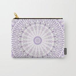 Purple Mandala Carry-All Pouch