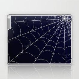 Spiderweb on Midnight Laptop & iPad Skin
