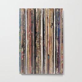 Jazz, Funk & Soul Vinyl Records Metal Print