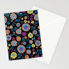 Nature in the dark Stationery Cards