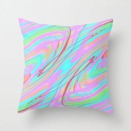 Clutter Throw Pillow