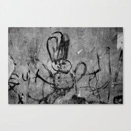 kids' graffiti Canvas Print