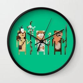 Tribal Leaders Wall Clock