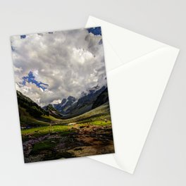 Kashmir Mountains  Stationery Cards