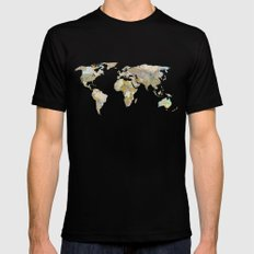 NEW ORDER Black Mens Fitted Tee SMALL