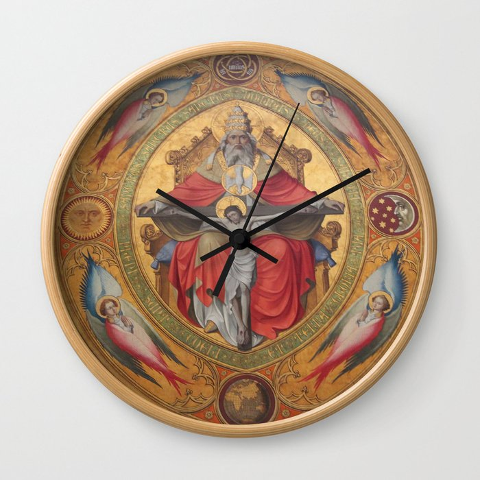 Cologne Cathedral - Altar of the Poor Clares Wall Clock by Christine aka stine1