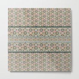 Islamic Art Pattern Metal Print