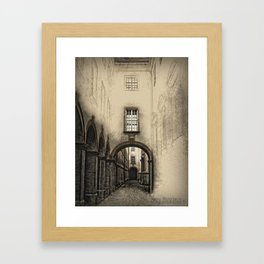 Melk Abbey Corridor Framed Art Print