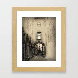 Melk Abbey Corridor Framed Art Print