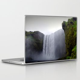 skogafoss waterfall, iceland. Laptop & iPad Skin