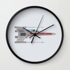 Red Leader to Goose, It's A TRAP! Wall Clock