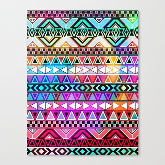 Tribal Pattern 08 Canvas Print