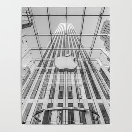 Big Apple in the Big Apple Poster