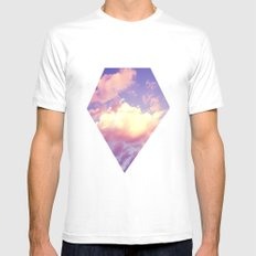 Cloudscape IV Mens Fitted Tee White MEDIUM