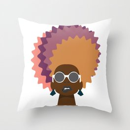 bite it back Throw Pillow