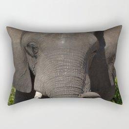 Elephant Detail Rectangular Pillow